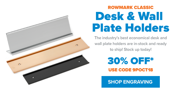 JPP Shop Desk and Wall Plate Holders