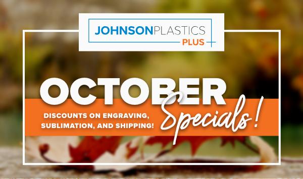 JPP October Specials!