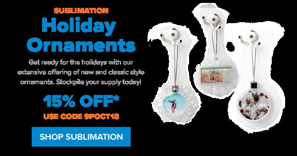 JPP Shop Sublimation Ornaments